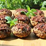 Ореховое печенье с черносливом