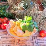 Куриное филе с овощной подливой