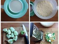 Яблочные дрожжевые блины ингредиенты