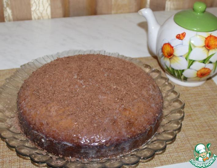 Рецепт: Быстрый пирог к чаю