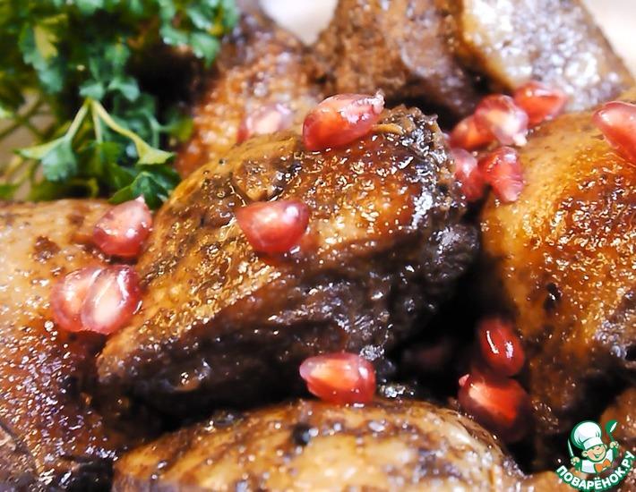 Рецепт: Жаркое из утки в необычном маринаде