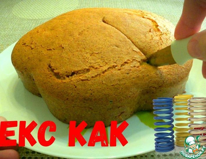 Рецепт: Нежнейший кекс на сгущенке