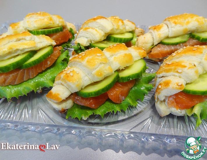 Рецепт: Праздничная закуска Эффектная