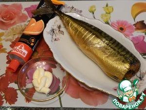Необычная закуска с рыбой ингредиенты