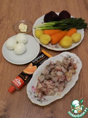Необычная закуска с рыбой Скумбрия