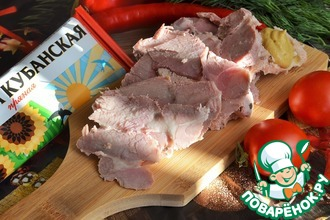 Рецепт: Мясо Праздничное