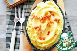 Рецепт: Картофельное пюре с сыром и беконом