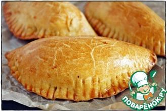Рецепт: Испанские пирожки Эмпанадас