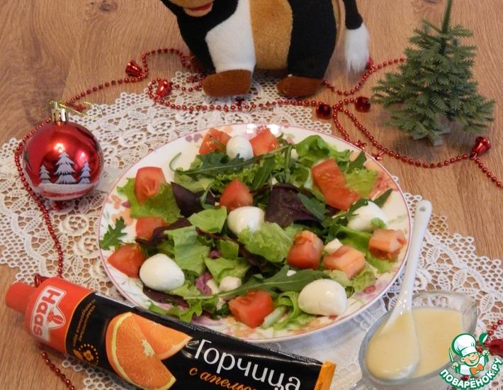 Рецепт: Салат с необычным вкусом