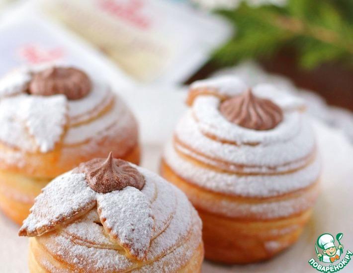 Рецепт: Десерт Райские яблочки