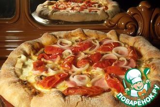 Рецепт: Тесто для пиццы холодной ферментации