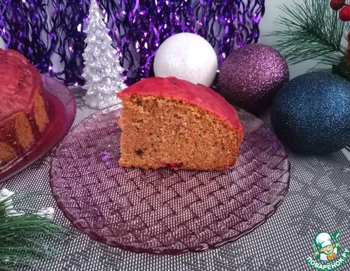 Рецепт: Морковный пирог Бархатный