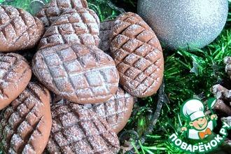 Рецепт: Печенье Шоколадные шишки