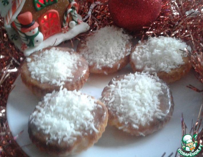 Рецепт: Кексы Новогодки