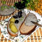 Селёдочный паштет с яйцом и огурцом