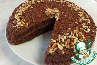 Рецепт: Торт Черный принц