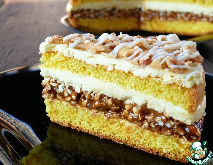 Рецепт: Торт Белый Лайн