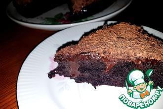 Рецепт: Шоколадный торт За час