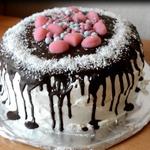 Торт с зефирным кремом Самый нежный