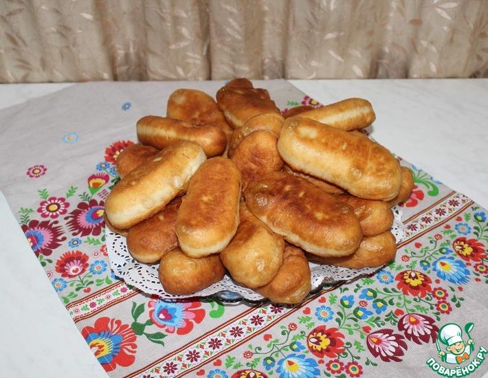 Рецепт: Жареные пирожки на картофельном отваре