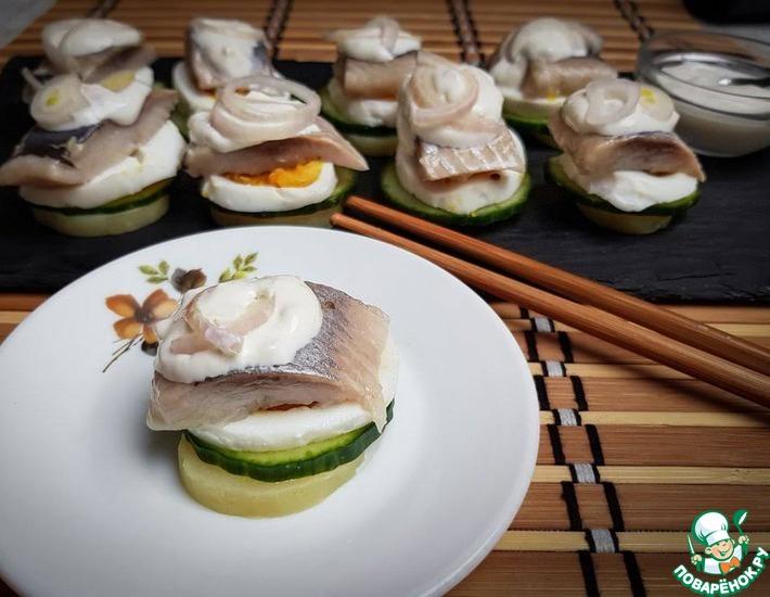Рецепт: Балтийские суши