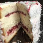 Торт Клубничное рафаэлло