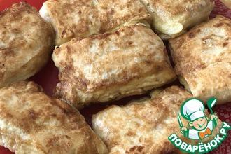 Рецепт: Пирожки из лаваша