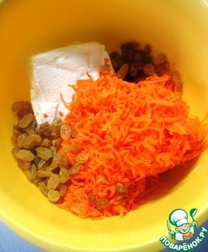 Морковные сырники ингредиенты