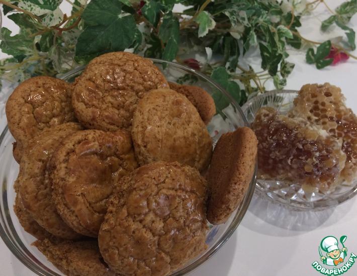 Рецепт: Ароматное медовое печенье