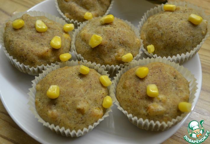 Закусочные кексы с кукурузой