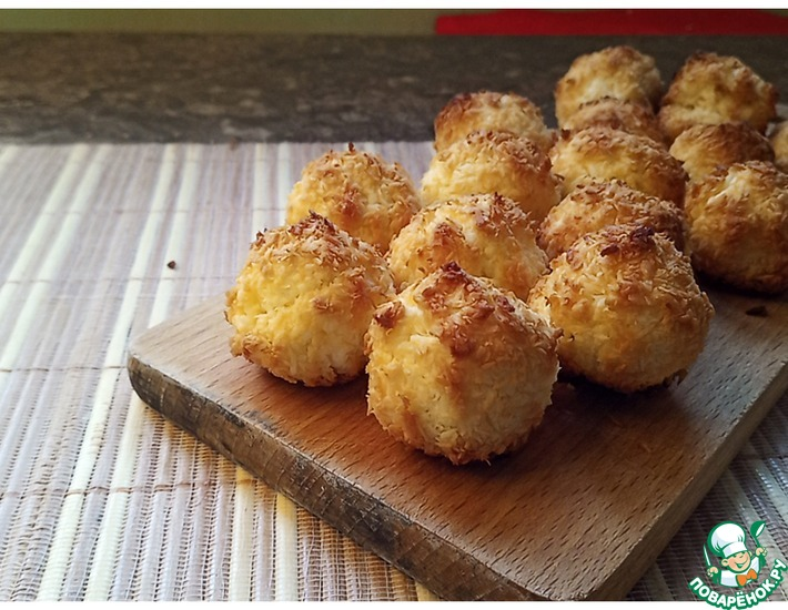 Рецепт: Печенье Кокосанка