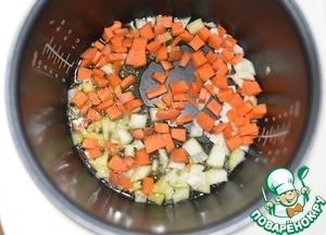 Овощное рагу с грибами и фасолью ингредиенты