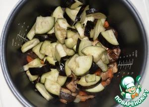 Овощное рагу с грибами и фасолью Лук репчатый