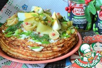 Рецепт: Салат Широкая Масленица
