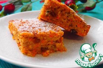 Рецепт: Мой любимый морковный пирог