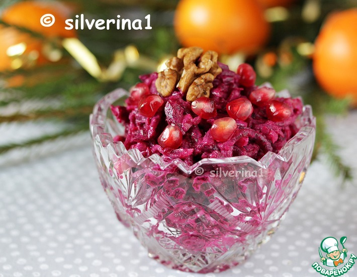 Рецепт: Свекольный салат Кавказский