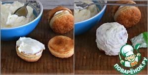 Слоеные пирожные со сметанным кремом Сок лимонный