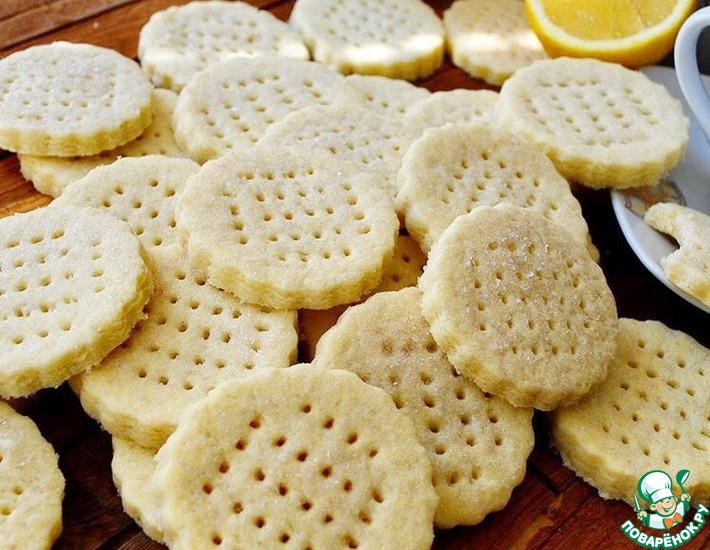 Рецепт: Швейцарское песочное печенье