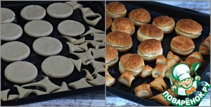 Слоеные пирожные со сметанным кремом ингредиенты