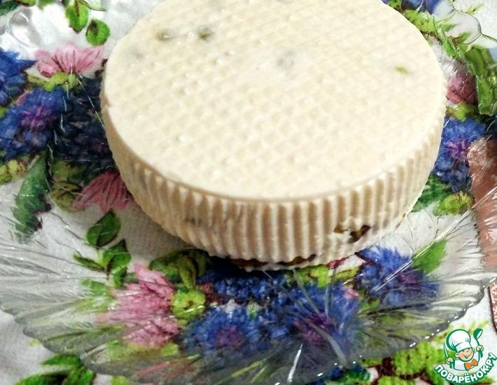 Рецепт: Сыр Качотта с фисташками