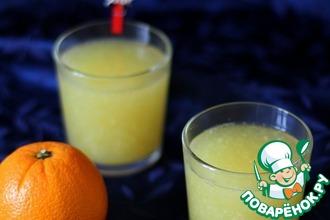 Рецепт: Апельсиновый кисель