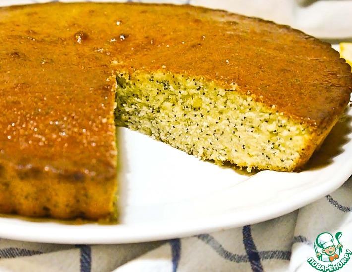 Рецепт: Пирог лимонный с маком
