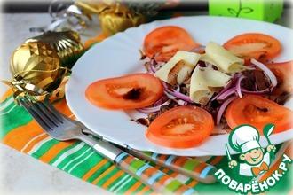 Рецепт: Теплый салат Страчетти