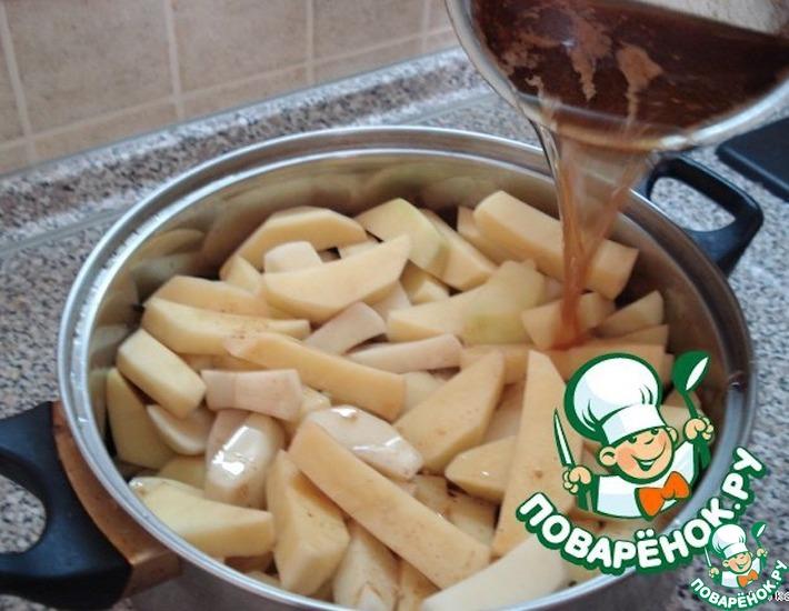 Рецепт: Картофель из духовки