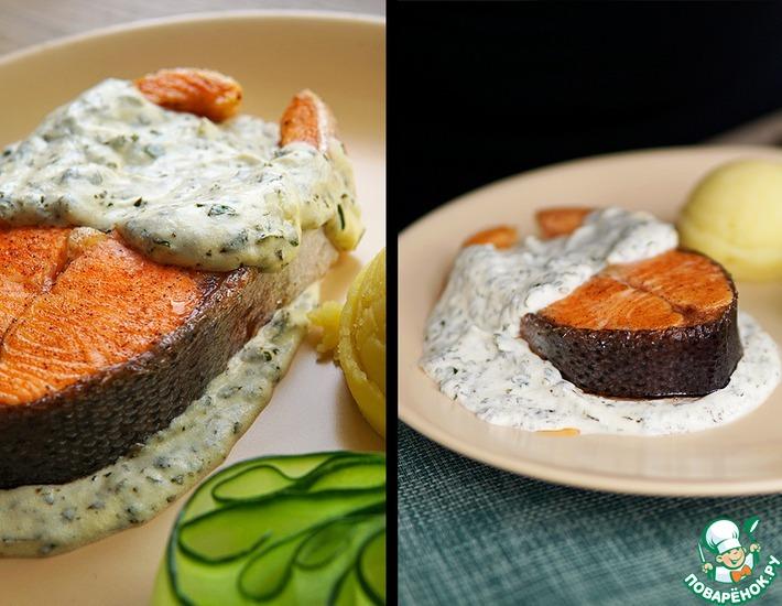 Рецепт: Норвежский соус к семге