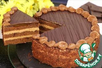 Рецепт: Шоколадный торт Пражский