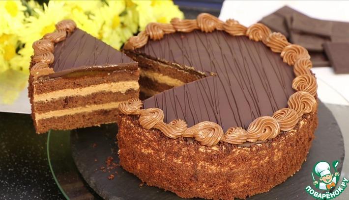 """Шоколадный торт """"Пражский"""""""