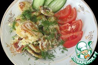Рецепт: Картофельные клецки купца Агафонова