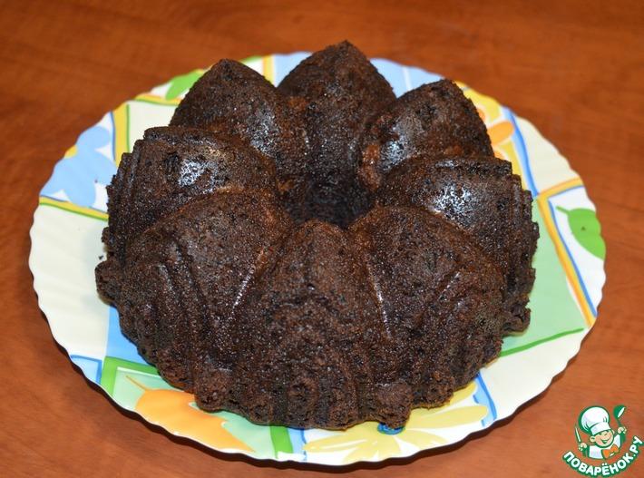 Шоколадный кекс из цельнозерновой муки за 5 минут. Быстрый кекс без яиц и молочных продуктов