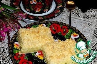 Рецепт: Обсыпной картофельный пирог